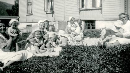 tusenvis av norske barn